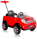 MINI COOPER PUSH CAR, pedal, red
