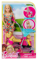 Barbie Spacer z pieskami
