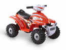 ROLLPLAY ATV MINI QUAD, 6V, red
