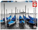1000 Gondolas in Venice ´Coloured Black & White´
