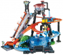 Hot Wheels City Mega Myjnia Atak krokodyla