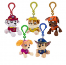 Paw Patrol The Movie plush coin purse on clip - 5 characters to collect 13.5-15.5cm characters