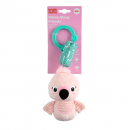 Bright Starts Chime Along Friends On-the-Go Toy - Flamingo