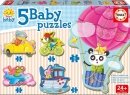 Baby Puzzles Driving animals
