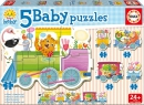 Baby Puzzles Animals train