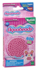 32588 AQB  Solid Beads Pink