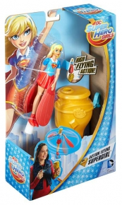 DC Super Hero Girls Latająca superbohaterka Ast.