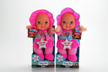 Baby's First Giggles Doll