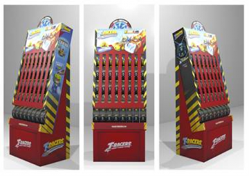 T-Racers - Stand Wheel Box