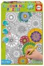 300 Big Beautiful Blossoms ´Colouring Puzzle´