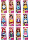 Disney Princess - mini figurka 7 cm ast